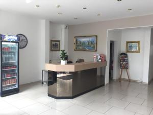 The lobby or reception area at Hotel Windsor