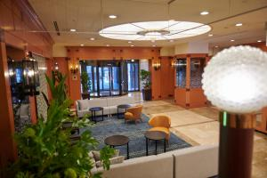 The lounge or bar area at HOTEL VISCHIO AMAGASAKI by GRANVIA