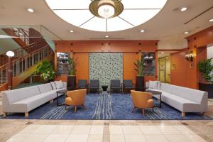 The lobby or reception area at HOTEL VISCHIO AMAGASAKI by GRANVIA