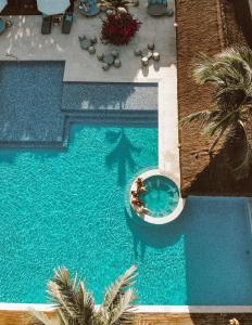 Uma vista da piscina em Campo Bahia Hotel Villas Spa ou nos arredores