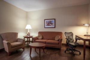 A seating area at Hilton Garden Inn El Paso