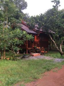 A garden outside Pruksa Resort Prachin Buri