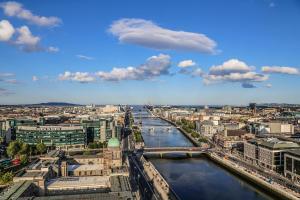 A bird's-eye view of Travelodge Dublin City Rathmines