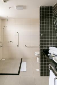 Ванная комната в WA Hotel Caruaru