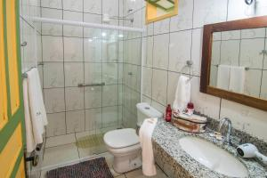 Um banheiro em Pousada da Sirlei
