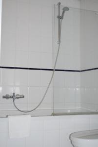 Een badkamer bij Hotel Restaurant Boven Groningen