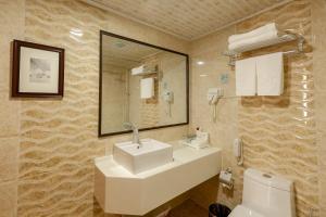 Un baño de Grand Hill Hotel Ulaanbaatar