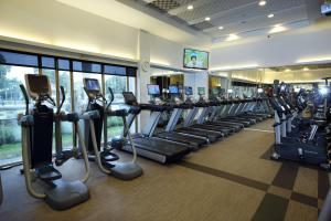 The fitness center and/or fitness facilities at The Grand Hotel
