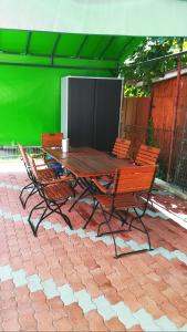 A porch or other outdoor area at Elena Haus