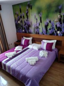 Uma cama ou camas num quarto em Hotel Rural Sra De Pereiras