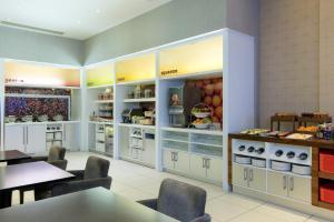 A kitchen or kitchenette at Hampton by Hilton London Croydon