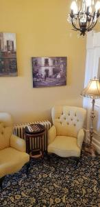 A seating area at Rowley Manor