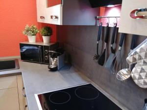 A kitchen or kitchenette at gapart - Apartments mit Küche