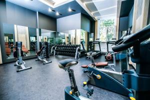 Фитнес-центр и/или тренажеры в Гостиница Амур