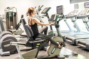 The fitness center and/or fitness facilities at Cerulean Tower Tokyu Hotel, A Pan Pacific Partner Hotel