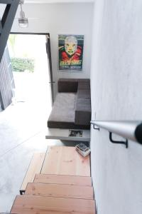 Un lugar para sentarse en Gallo Azul, Downtown Loft Style Apartment