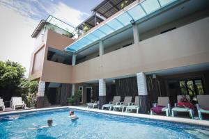 The swimming pool at or near Hua Hin White Sand