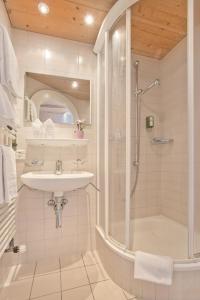 Ванная комната в Hotel Sonnenberg