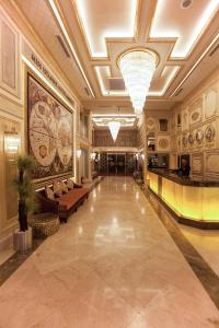 The lobby or reception area at Miss Istanbul Hotel & Spa