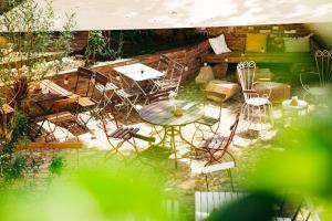 A bird's-eye view of Hostel Multitude