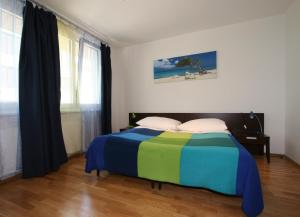 Кровать или кровати в номере Aparthotel Angel