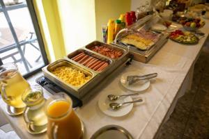Možnosti snídaně pro hosty v ubytování Hotel Morava