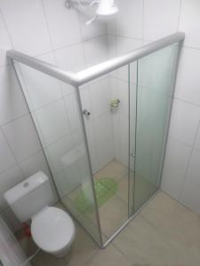 Um banheiro em Hotel Farrapos