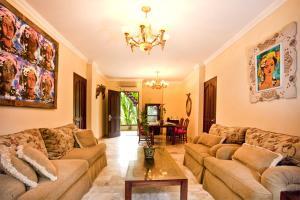 Zona de estar de Hotel Kumala Pantai