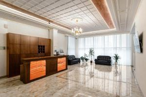 The lobby or reception area at Hotel Imperator