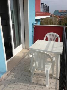 Balkón nebo terasa v ubytování Residence Antares