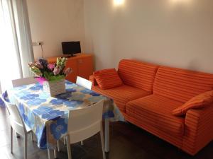 Posezení v ubytování Residence Antares