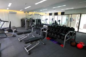 The fitness centre and/or fitness facilities at Discovery Shores Boracay