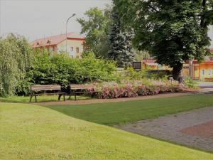 Сад в Vzdělávací Středisko a Hotel