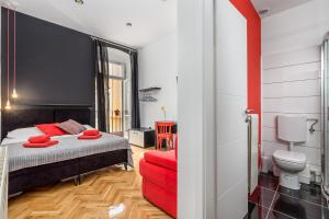 Krevet ili kreveti u jedinici u objektu Hostel 1W