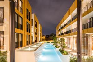 The swimming pool at or near Craftsman Bangkok
