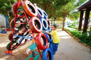 Sân chơi trẻ em tại Vietsovpetro Resort