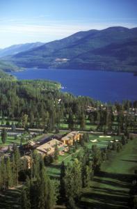 A bird's-eye view of Grouse Mountain Lodge