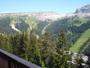 Een algemene foto van de bergen of uitzicht op de bergen vanuit het aparthotel