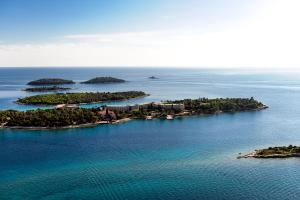 A bird's-eye view of All Suite Island Hotel Istra