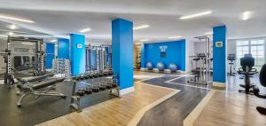 The fitness center and/or fitness facilities at Fairmont St Andrews, Scotland