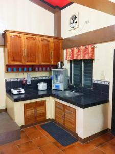 A kitchen or kitchenette at Palawan Holiday Home near SM