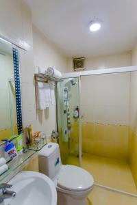 A bathroom at A25 Hotel - 122 Lê Lai