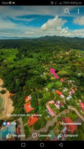 A bird's-eye view of Bungalows Ache Cozy House