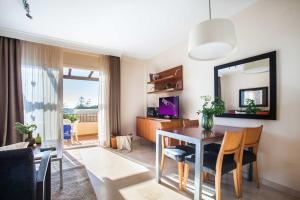 A television and/or entertainment center at CLC Marina Park Aparthotel