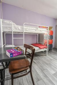 A bunk bed or bunk beds in a room at Young and Happy Latin Quarter by Hiphophostels