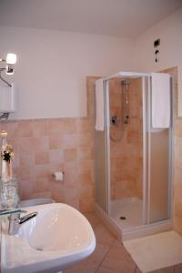 A bathroom at Camere Rufino
