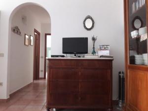 TV o dispositivi per l'intrattenimento presso Apartment San Filippo