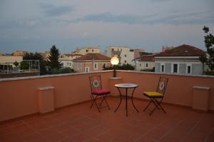 Balcon ou terrasse dans l'établissement L'Oasi al Pigneto - Guest house