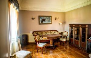 Część wypoczynkowa w obiekcie Pałac Racot