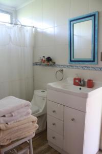 Un baño de Alojamiento El Aromo